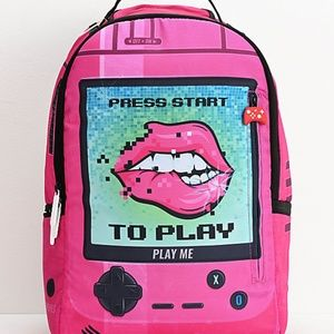 Play Me Pink Backpack from Sprayground